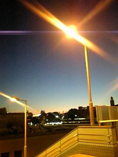 上野の夜景②